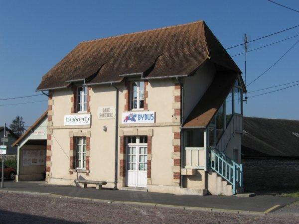 Gare routière de Bayeux en 2007