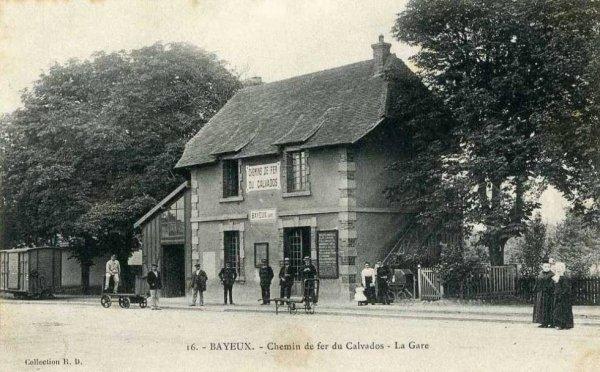 Bayeux - Gare des chemins de Fer du Calvados