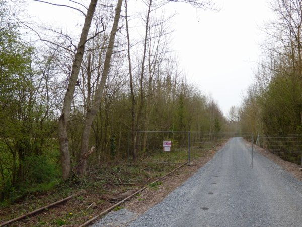 Ligne Caen Flers à Louvigny