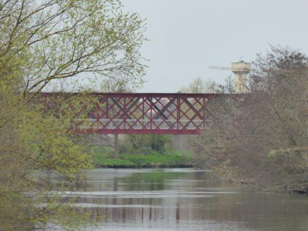 Pont de la Ligne Caen Flers à Fleury-sur-Orne