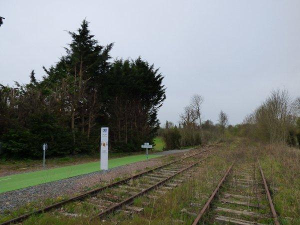 Ancienne double voie de Caen à Flers à Saint-André
