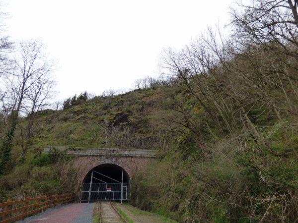 Entrée du Tunnel du Hom en mars 2014