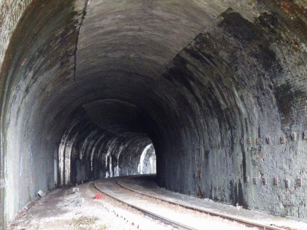 Intérieur du Tunnel du Hom en mars 2014