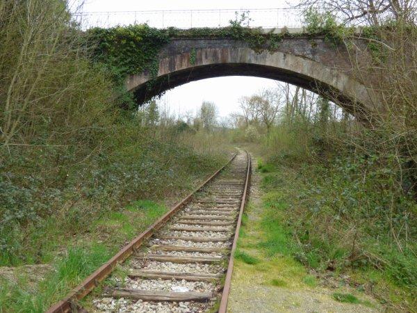 Pont routier sur la ligne Caen Flers à Thury-Harcourt
