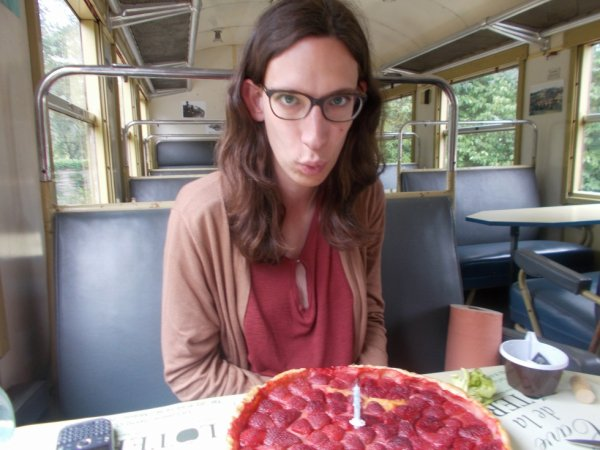 Mon 30e anniversaire dans la voiture Bruhat restaurant de l'ACF