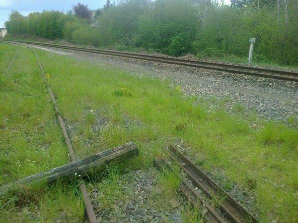 Ancienne bifurcation des lignes Paris Argentan Granville et Caen Flers
