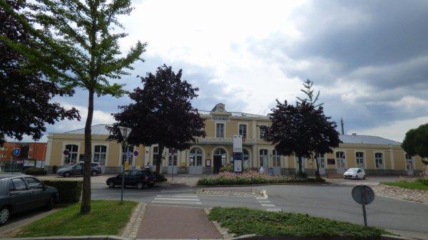 Gare de Flers le 26 juillet 2014