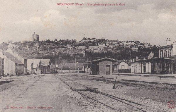 Ancienne gare de Domfront