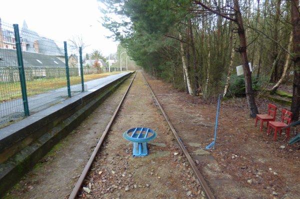 Retournement des vélorails à Bagnoles-de-l'Orne