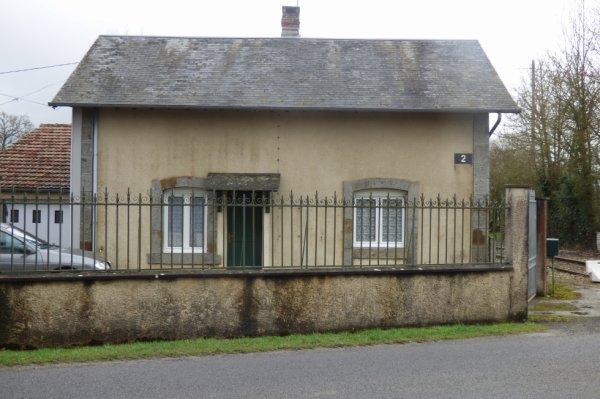 Maison de garde du Passage à Niveau n°2 de Briouze à Bagnoles