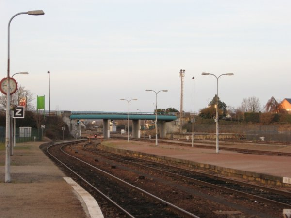 Gare d'Alençon - Voies vers Caen