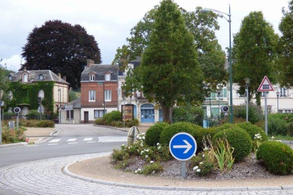 Pont Audemer - Rond point de la gare