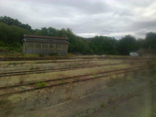 Gare de Glos Montfort - Ancien triage