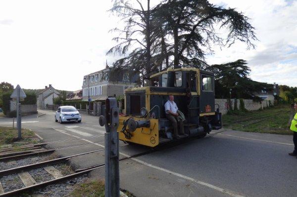Le Y2262 du CFVE passe à PN de Breuilpont