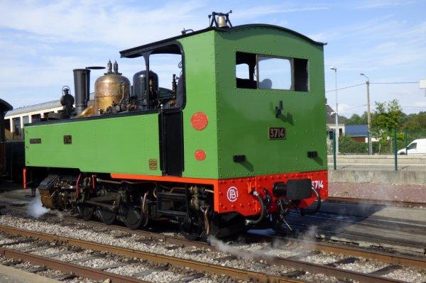 Locomotive Buffaud Robatel 3714 à Noyelles
