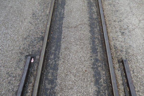 Fin de la voie à écartement standard à Saint-Valéry-sur-Somme
