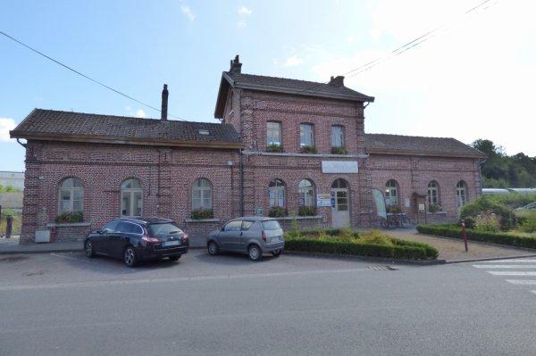 Gare de Lumbres, terminus du CFTVA