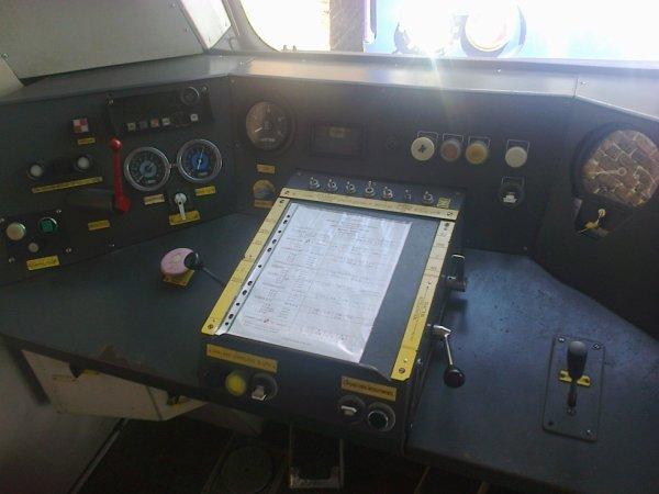 Pupitre de commandes d'une Caravelle du CFTVA