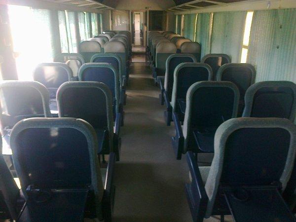 Salle de 2ème Classe d'une Caravelle du CFTVA