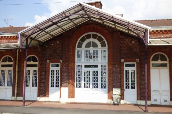 Verrière du quai de la gare de Bergues