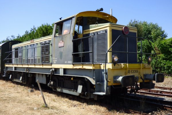 Locomotive 63000 du CFT du Cotentin