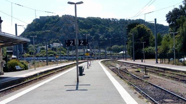 Voies de la gare de Cherbourg