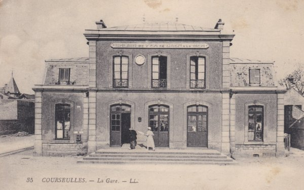 Ancienne gare de Courseulles