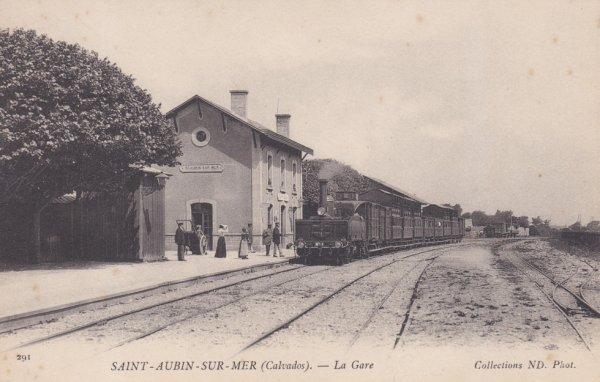 Ancienne gare de Saint Aubin sur Mer