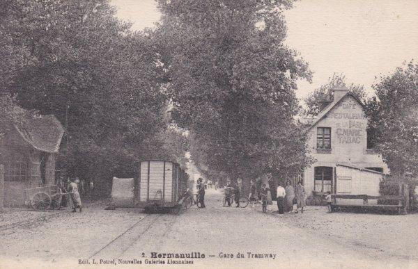 Ancienne gare d'Hermanville sur Mer