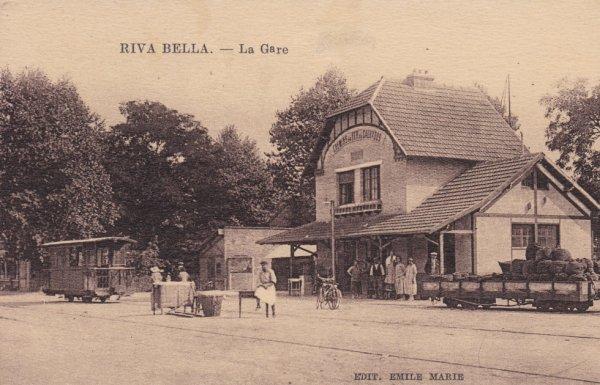 Ancienne gare de Ouistreham Riva-Bella