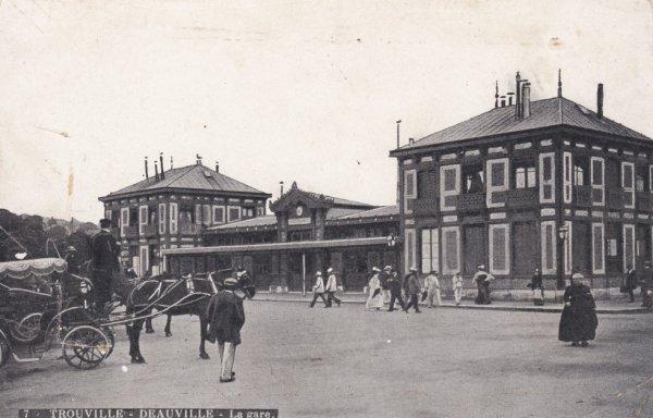Anciene gare de Trouville Deauville