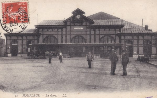 Ancienne gare de Honfleur