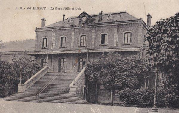 Gare d'Elbeuf Ville