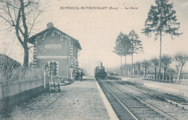 Gare d'Autheuil Authouillet