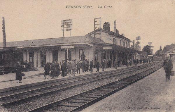 Gare de Vernon avant 1940