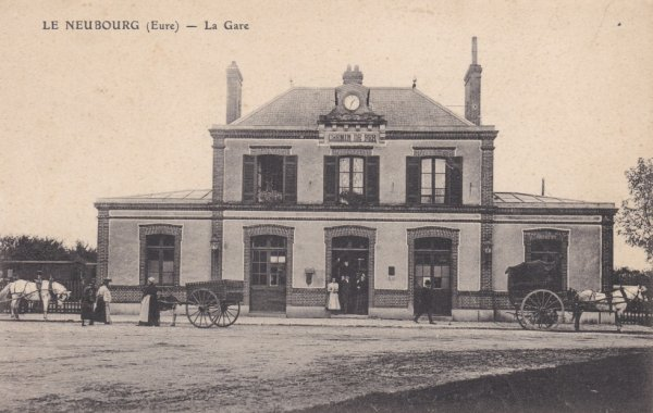Ancienne gare de Neubourg