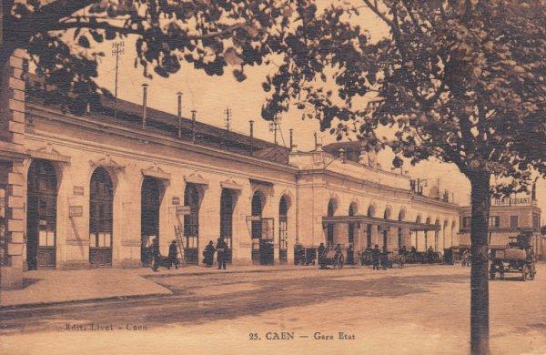 Gare de Caen en 1930