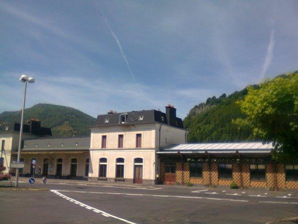 Gare du Mont Dore en juin 2012