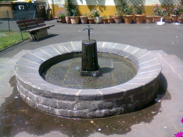 Une fontaine au Mont Dore