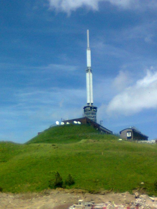 Station Météo et Emetteur au sommet du Puy de Dome