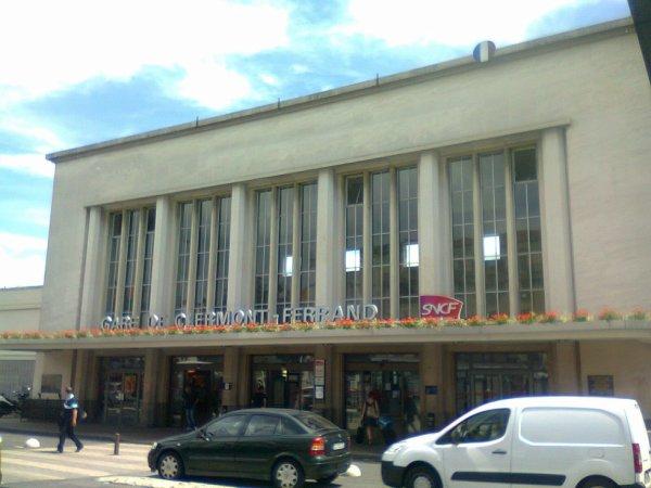 Gare principale de Clermont Ferrand