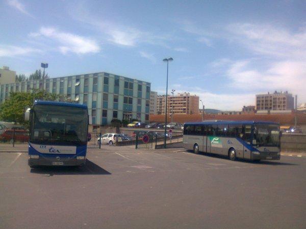Autocars TER à Clermont Ferrand