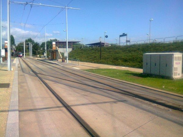 Station de tramway de Clermont La Pardieu