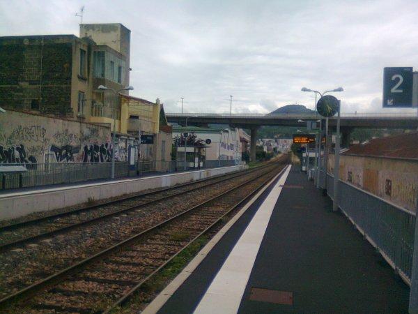 Quais et voies à Clermont La Rotonde