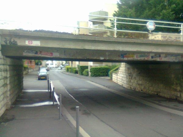 Pont SNCF de Clermont La Rotonde