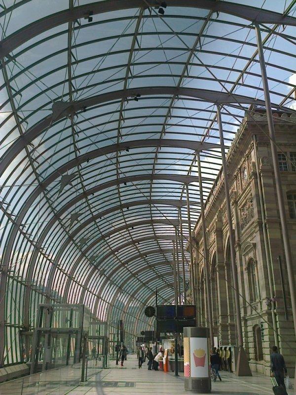 Nouveau hall de la gare de Strasbourg