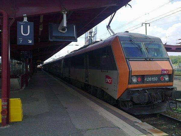 Rame TER-200 Alsace en gare de Strasbourg
