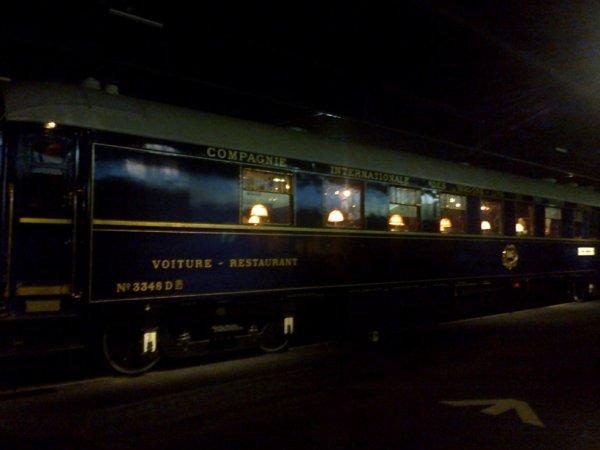 Cité du Train à Mulhouse - Voiture CIWL