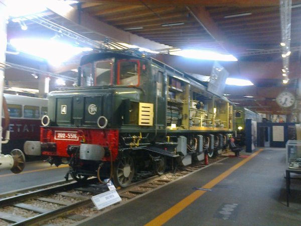 Cité du Train à Mulhouse - Locomotive électrique type 2D2