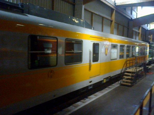 Cité du Train à Mulhouse - Motrice d'un Turbotrain du dépot de Caen